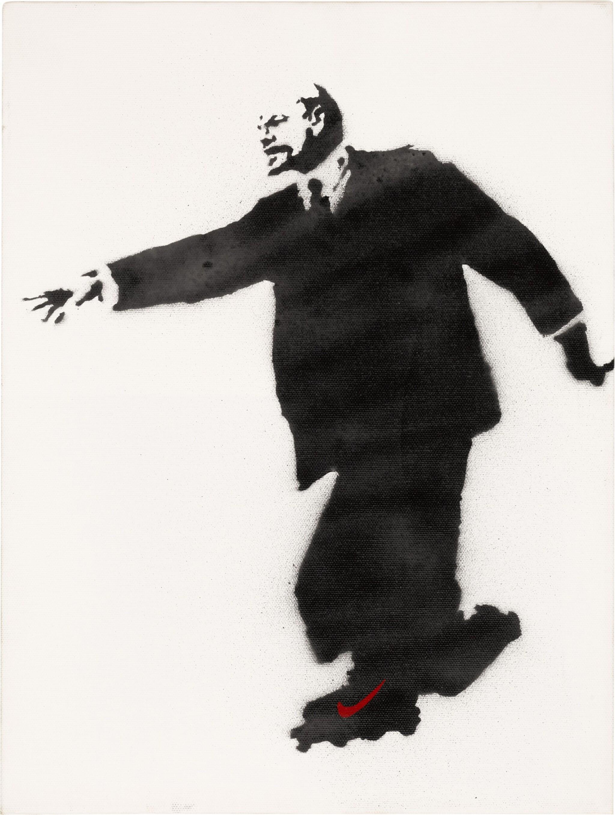 View full screen - View 1 of Lot 125. Lenin on Roller Skates.