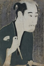 TOSHUSAI SHARAKU (ACTIVE 1794–1795), EDO PERIOD, LATE 18TH CENTURY ONOE MATSUSUKE I AS MATSUSHITA MIKINOSHIN