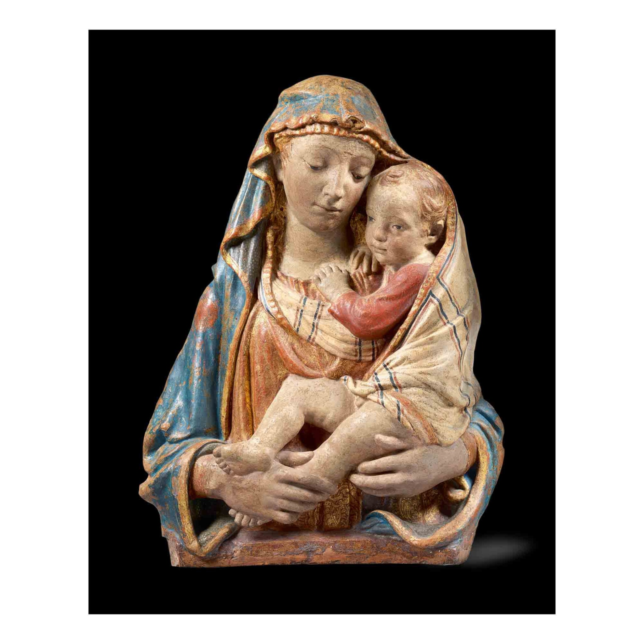 View full screen - View 1 of Lot 111. Madonna and Child.