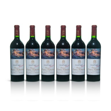 View 1. Thumbnail of Lot 55. Château Mouton Rothschild 2010  (6 BT).