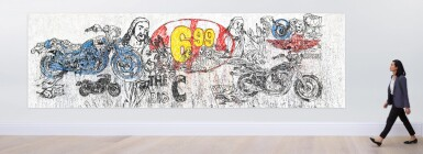 View 2. Thumbnail of Lot 40. The Last Supper (The Big C) II (inspired by Andy Warhol)   最後的晚餐(THE BIG C) II(靈感自安迪·沃荷 ).