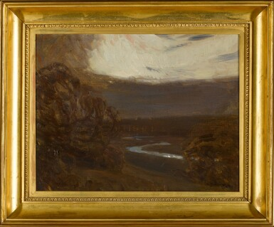 View 2. Thumbnail of Lot 133. River Landscape at Twilight.