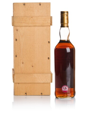 View 2. Thumbnail of Lot 45. THE MACALLAN 25 YEAR OLD ANNIVERSARY MALT 43.0 ABV 1966 .
