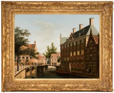 View 2. Thumbnail of Lot 36. The Oudezijds Heerenlogement, on the confluence of the Grimburgwal and the Oudezijds Voorburgwal, Amsterdam | 《烏德齊耶茲・希倫胡辛旅館,格林伯格瓦爾運河與奧德澤茲・沃爾伯格瓦運河交匯處,阿姆斯特丹》.