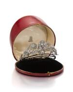 DIAMOND TIARA,POSSIBLY CARRINGTON & CO., LATE 19TH CENTURY | 鑽石冠冕 , Possibly Carrington & Co., 19 世紀晚期