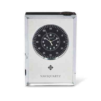 View 1. Thumbnail of Lot 43. PATEK PHILIPPE | REFERENCE 1200, NAVIQUARTZ AN ALUMINUM DESK TIMEPIECE, MADE IN 1972.