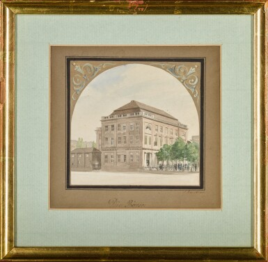 View 2. Thumbnail of Lot 60. Die Börse (The Stock Exchange).