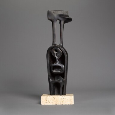 BERNARD MEADOWS | STANDING MOTHER AND CHILD