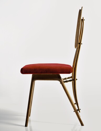 View 2. Thumbnail of Lot 287. CARLO MOLLINO   AN IMPORTANT CHAIR.