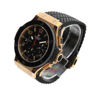 REFERENCE 310.PB.131.RX A PINK GOLD AUTOMATIC CHRONOGRAPH WRISTWATCH WITH DATE, CIRCA 2007