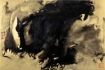 Zhang Daqian (Chang Dai-Chien, 1899-1983) 張大千 (1899-1983)   Dwelling in the Misty Mountains 煙霞漫山居