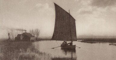 View 6. Thumbnail of Lot 33. England—Peter Henry Emerson and T.F. Goodall | Life and Landscape on the Norfolk Broads. London, 1886.