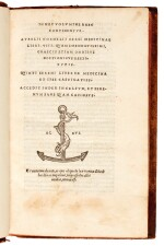 Celsus, Medicinae libri VIII, Venice, Aldus, 1528, later calf