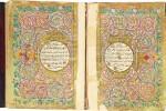AN ILLUMINATED QUR'AN, TURKEY, OTTOMAN, 19TH CENTURY