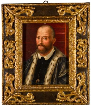 View 2. Thumbnail of Lot 107. Portrait of Cosimo I de' Medici, Grand Duke of Tuscany (1519-74), bust-length.