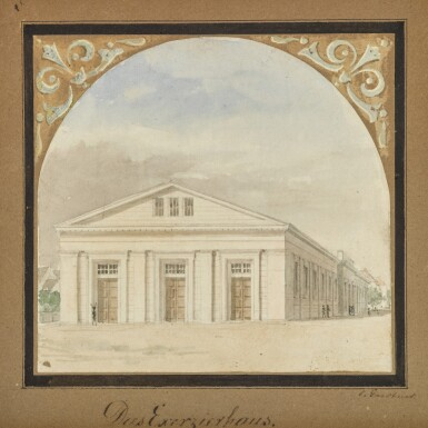 View 1. Thumbnail of Lot 47. Das Exerzierhaus (The Regimental Parade House).