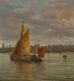 EDWIN HAYES, R.H.A., R.I., R.O.I. |  THE FISHING BOAT