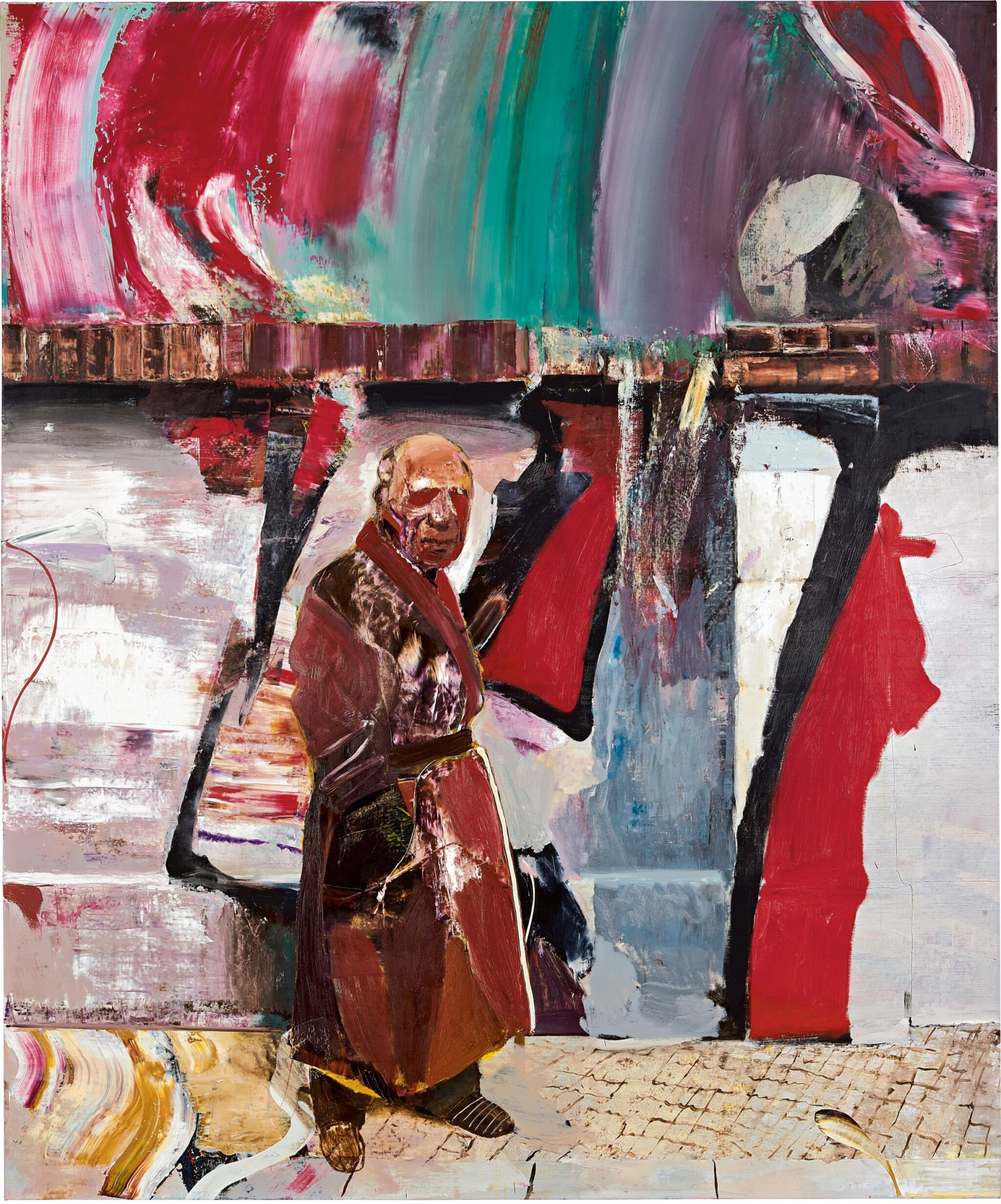 View full screen - View 1 of Lot 1121. Adrian Ghenie 亞德里安・格尼 | The Trip 旅程.