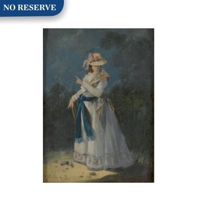 View 1. Thumbnail of Lot 146. An Elegant Young Woman.