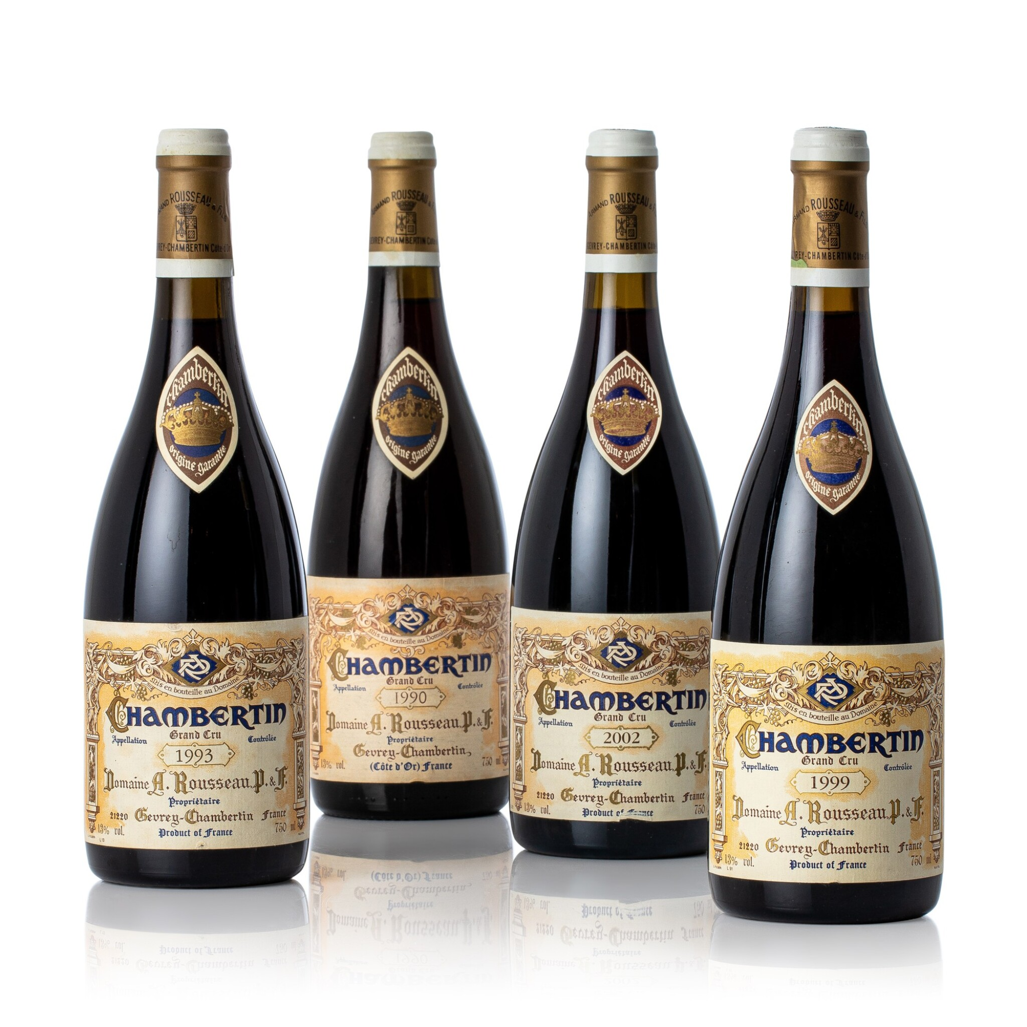 View full screen - View 1 of Lot 3113. Chambertin 1990 Domaine Armand Rousseau (1 BT).
