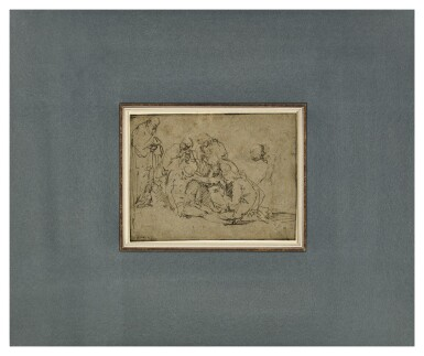 View 2. Thumbnail of Lot 220. The Lamentation of Christ.