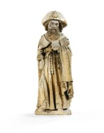 FRENCH, BURGUNDY, CIRCA 1460-70 | SAINT JAMES THE GREATER