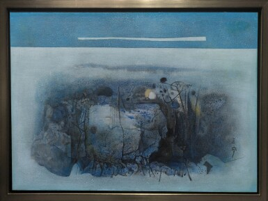 View 2. Thumbnail of Lot 279. CHEONG SOO PIENG 鍾泗濱  | ABSTRACT LANDSCAPE 抽象風景.