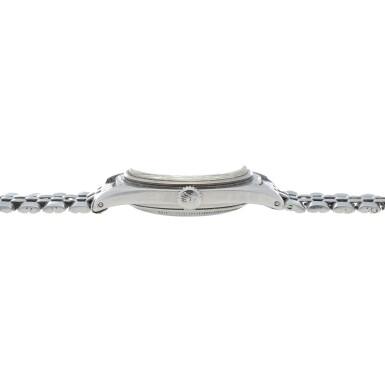 View 5. Thumbnail of Lot 35. 'James Bond Small Crown' Submariner, Ref. 6536/1 Stainless steel wristwatch with bracelet Circa 1955   勞力士6536/1型號「'James Bond Small Crown' Submariner」精鋼鍊帶腕錶,年份約1955.