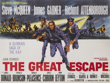THE GREAT ESCAPE (1963) POSTER, BRITISH