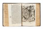 CHAMPLAIN. Les Voyages de la Nouvelle France occidentale... P., Le Mur, 1632. In-4 basane brune de l'ép. 3e édition