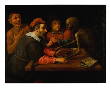 GIOVANNI MARTINELLI  |  DEATH COMES TO THE TABLE OF THE MISER