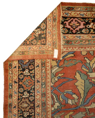 View 2. Thumbnail of Lot 10. A 'Ziegler' Mahal carpet, Northwest Persia, late 19th/early 20th century.