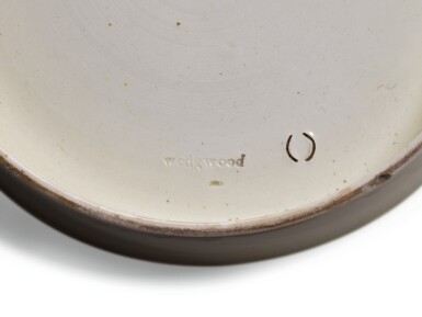 View 4. Thumbnail of Lot 136. A Wedgwood creamware transfer-printed commemorative punch bowl, late 18th century.