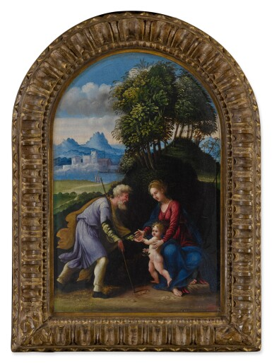 View 2. Thumbnail of Lot 23. The Holy Family.
