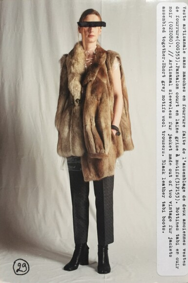 View 8. Thumbnail of Lot 119. Martin Margiela, Fall-Winter 2002-2003, similar to looks 27 and 29   Martin Margiela, Artisanal, Automne-Hiver 2002-2003, similaire aux looks 27 et 29.