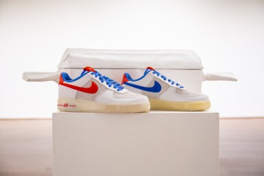 View 1. Thumbnail of Lot 8212. Air Force 1 Supreme Quickstrike 'Year of the Rabbit', 2011    兔年款球鞋,2011年.