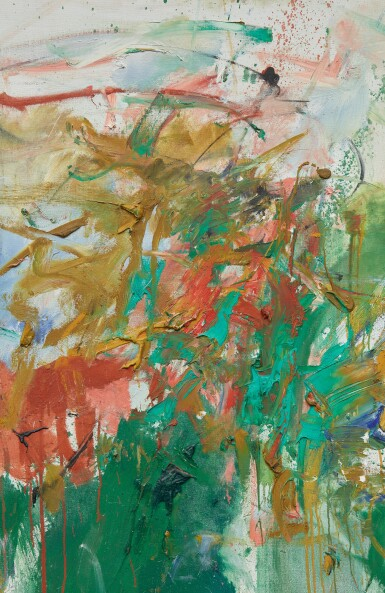 View 2. Thumbnail of Lot 7. JOAN MITCHELL | GARDEN PARTY.