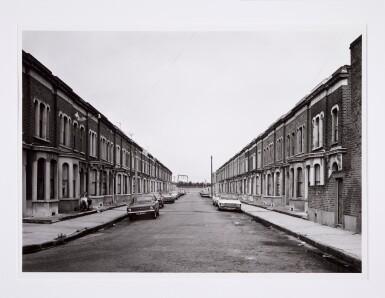 View 6. Thumbnail of Lot 36. 'Clinton Road', Murdock Cottages, London, 1977; 'Panorama 2', Beaugrenelle, Paris, 1979; 'Gereonswall', Koln, 1980; 'Calle Tintoretto', Venezia, 1990.