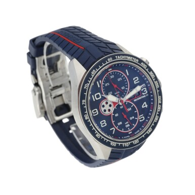 View 2. Thumbnail of Lot 230. SILVERSTONE RS A STAINLESS STEEL AUTOMATIC CHRONOGRAPH WRISTWATCH WITH DAY AND DATE, CIRCA 2015.