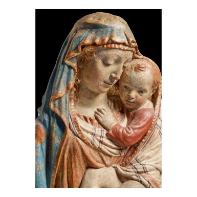 View 2. Thumbnail of Lot 111. Madonna and Child.