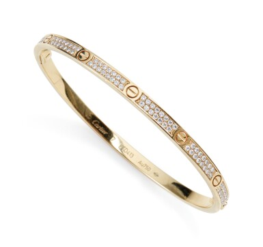 DIAMOND BANGLE, 'LOVE', CARTIER