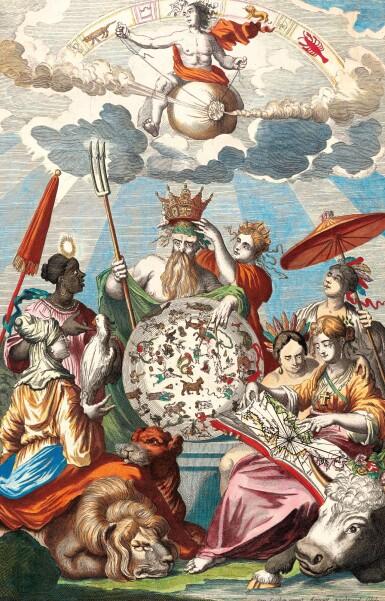 View 4. Thumbnail of Lot 296. Keulen. De Groote Nieuwe Vermeerderde Zee-Atlas ofte Water-Werelt. 1685, fine hand-colouring.