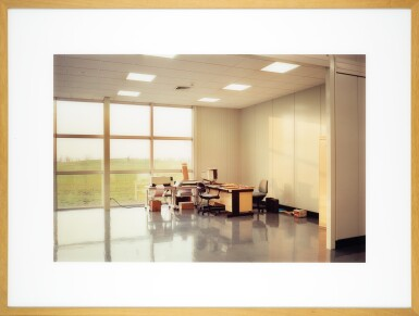View 2. Thumbnail of Lot 78. LEWIS BALTZ   'UNOCCUPIED OFFICE', MITSUBISHI, VITRE, FRANCE, 1989-1991.