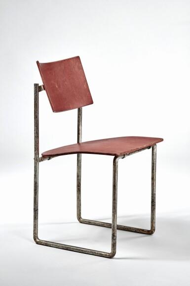 "View 1. Thumbnail of Lot 11. ""Schröder"" Upright Chair."