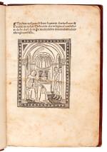Antoninus Florentinus, Tractato...defecerunt, Florence, 1496, later diced calf gilt