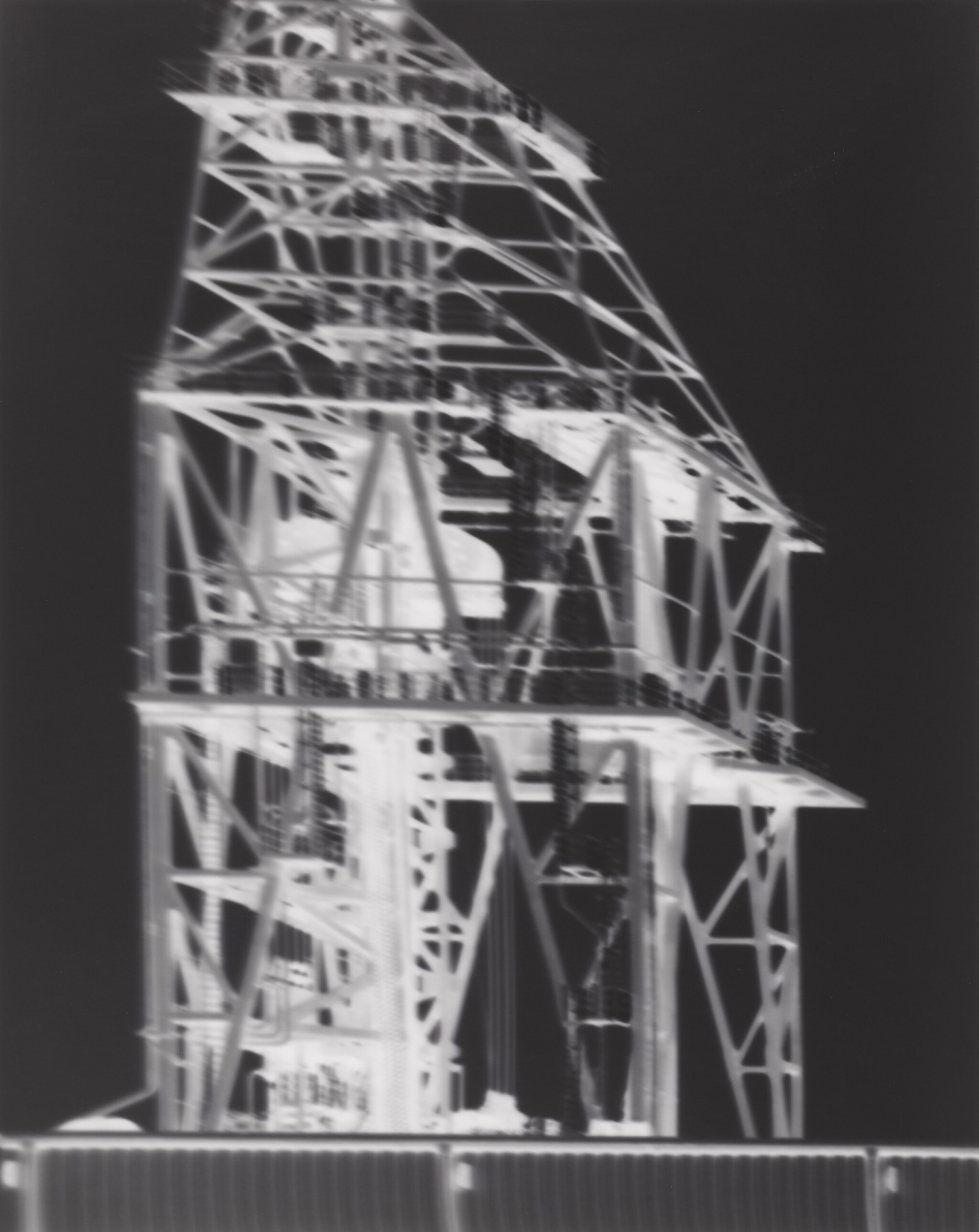 View full screen - View 1 of Lot 183. Kvaerner Drilling Tower: November 29, 2000.