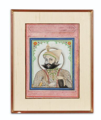 View 2. Thumbnail of Lot 66. INDIA, RAJASTHAN AND PUNJAB, 19TH CENTURY | TWO PORTRAITS AND TWO GATHERINGS.