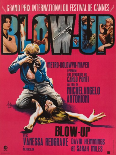 BLOW UP (1967) POSTER, FRENCH