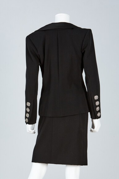 View 3. Thumbnail of Lot 39. Haute Couture Suit Ensemble, Fall/Winter Collection, 1989.