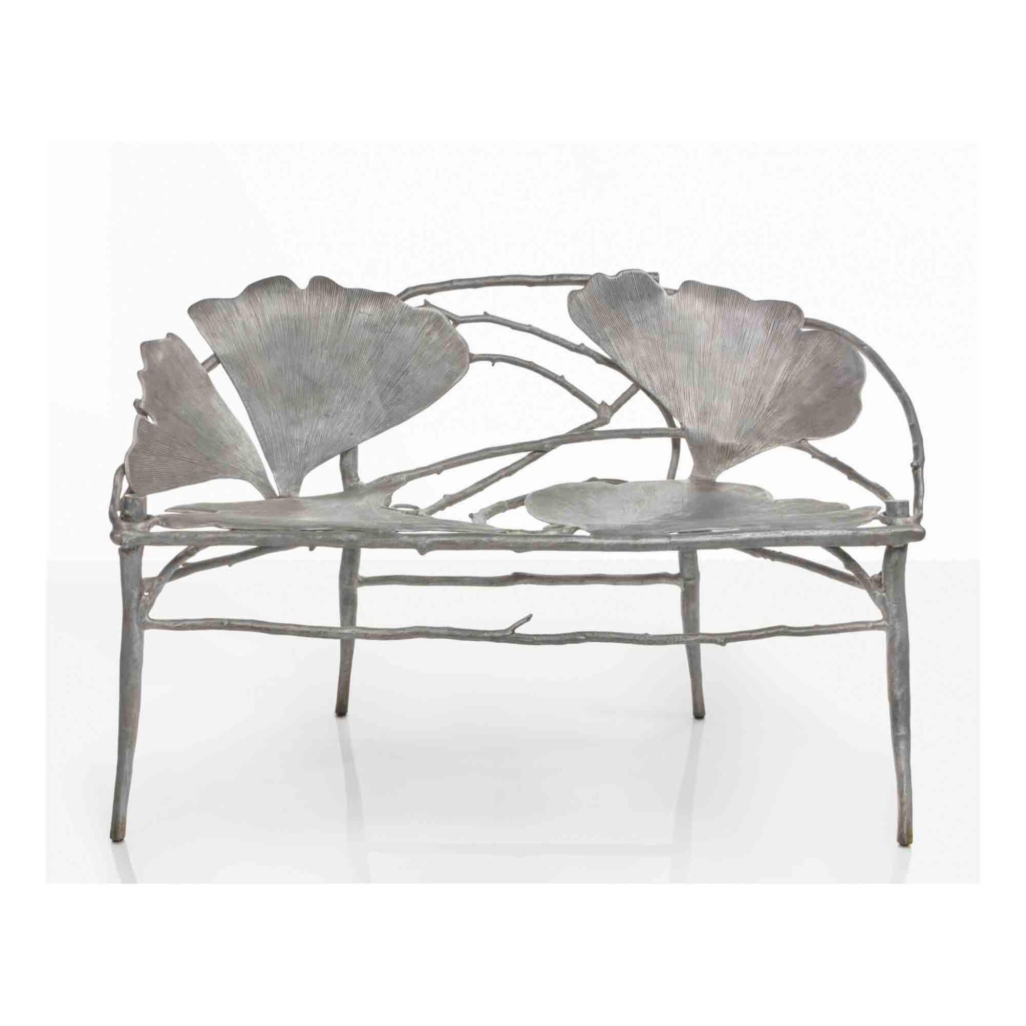 """View full screen - View 1 of Lot 153. """"Ginkgo"""" Bench."""
